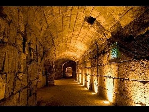 Western Wall Tunnel In the Footsteps of Jesus The Western Wall Tunnels in Jerusalem