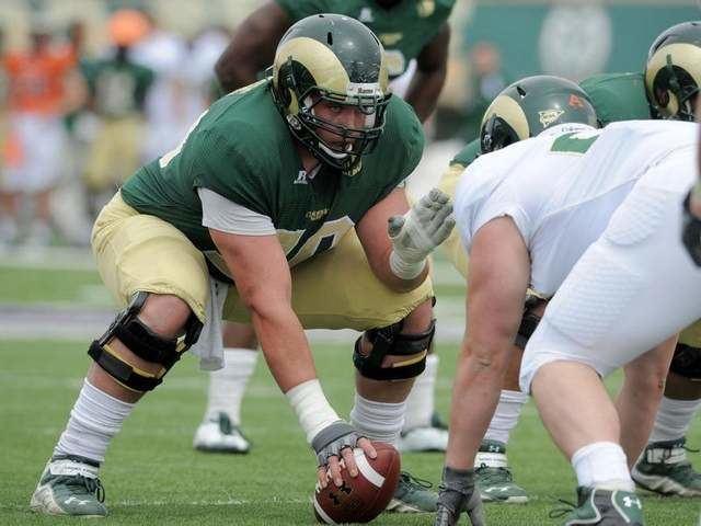 Weston Richburg Bushland39s Richburg gets high marks for NFL draft