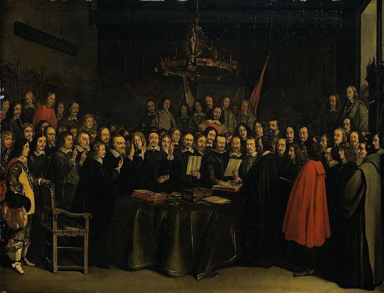 Westphalia The Treaty of Westphalia History Today