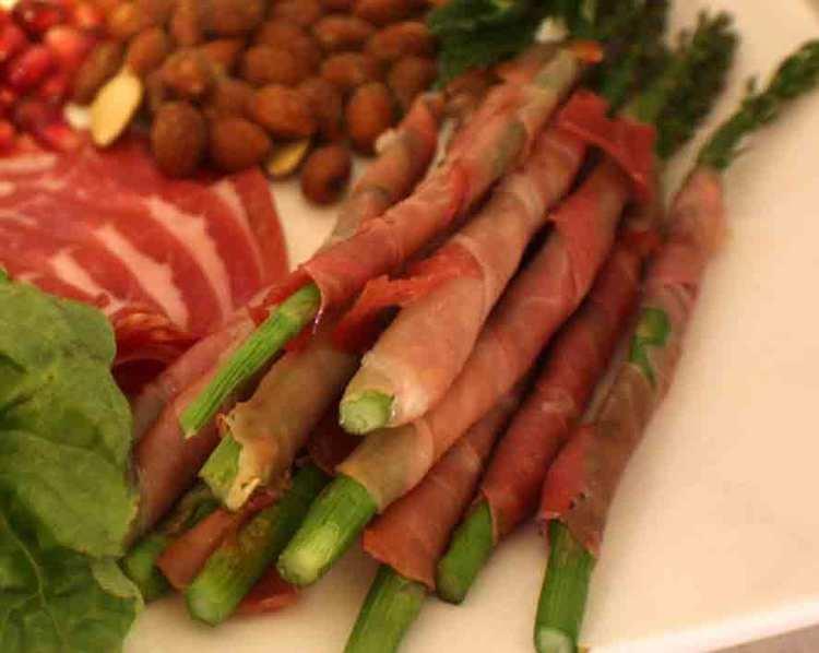 Westphalian ham Asparagus Wrapped with Westphalian Ham