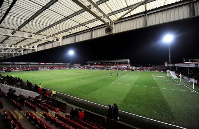 Whaddon Road Around The Grounds Whaddon Road Home Of Cheltenham Town Who Ate