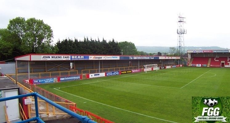 Whaddon Road LCI Rail Stadium Cheltenham Town FC Football Ground Guide