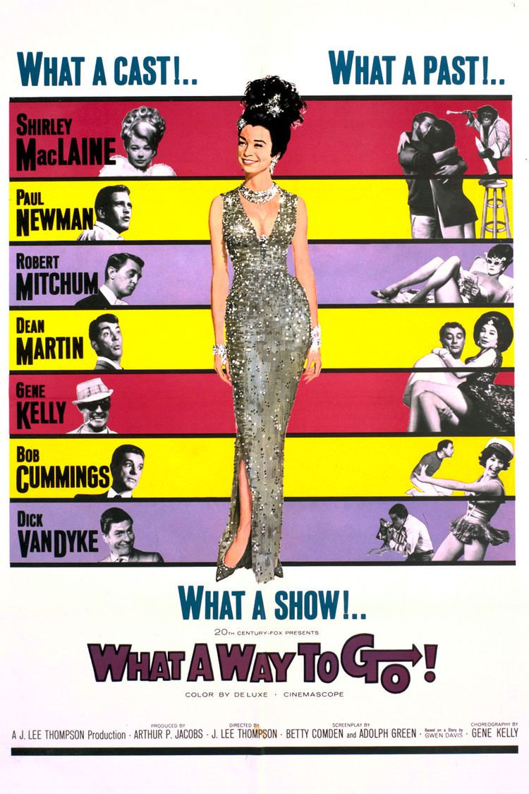 What a Way to Go! (film) wwwgstaticcomtvthumbmovieposters3945p3945p