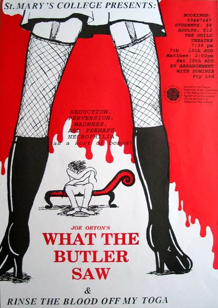 What the Butler Saw (1950 film) What the Butler Saw 1950 OLD MOVIE CINEMA