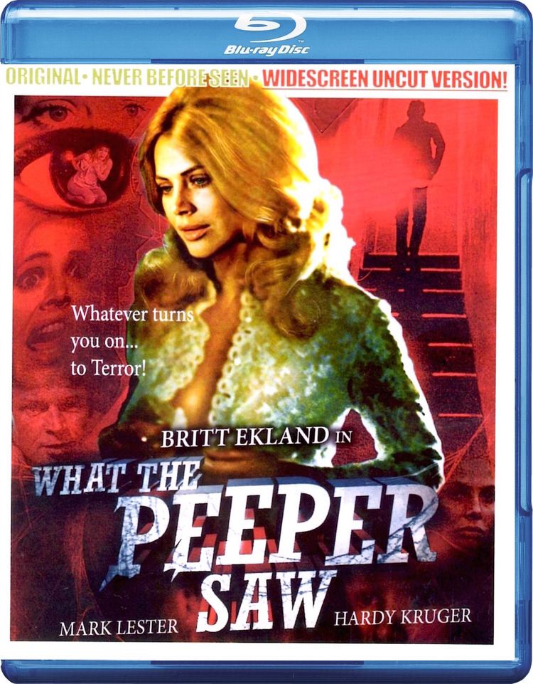 What the Peeper Saw What the Peeper Saw Bluray