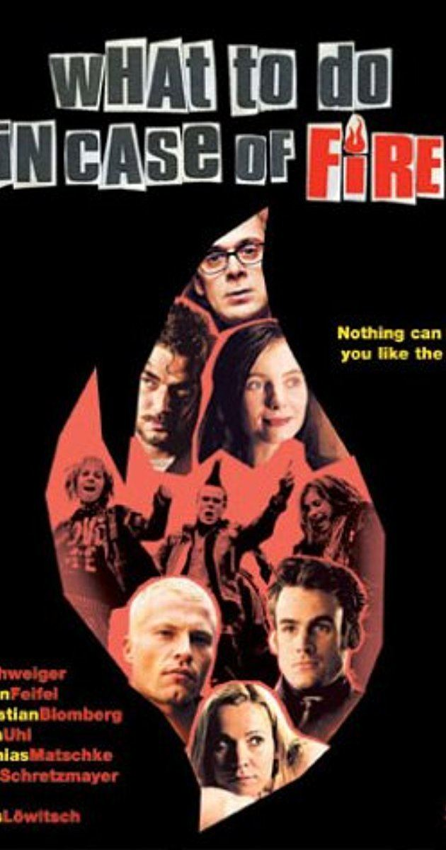 What to Do in Case of Fire? What to Do in Case of Fire 2001 IMDb