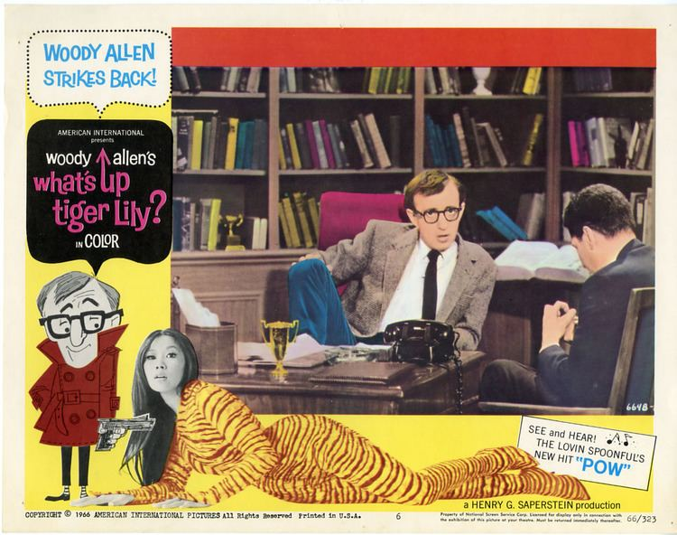 Whats Up, Tiger Lily? movie scenes whats up tiger lily By 1966