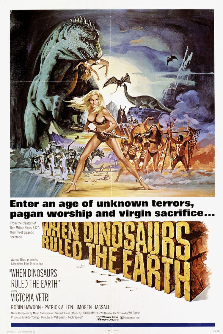 When Dinosaurs Ruled the Earth wwwgstaticcomtvthumbmovieposters13318p13318