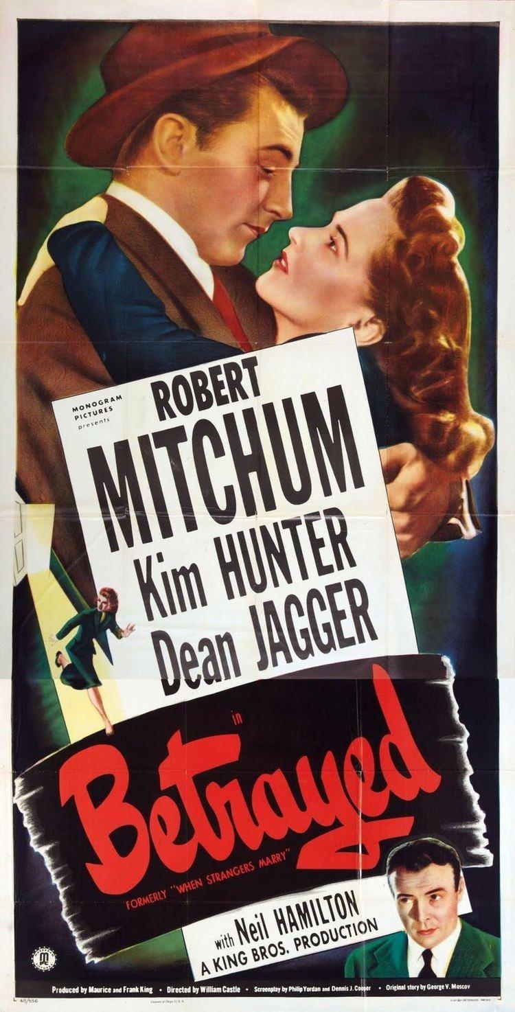 When Strangers Marry When Strangers Marry 1944 Film Noir of the Week
