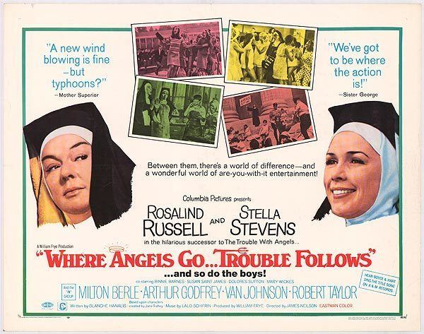 Where Angels Go Trouble Follows movie posters at movie poster