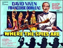 Where the Spies Are THE SPY WHO PARODIED Part 1 by David L Vineyard WHERE THE SPIES