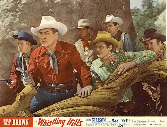 Making Movies Whistling Hills 1951 50 Westerns From The 50s