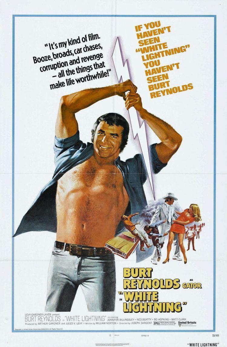 White Lightning (1973 film) White Lightning Movie Poster 2 of 2 IMP Awards