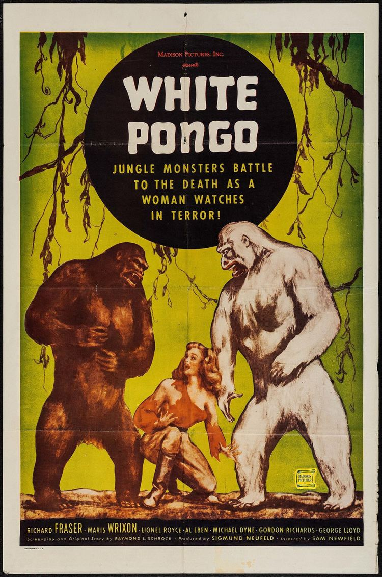 Deep in the Jungle is White Pongo 1945 The Telltale Mind