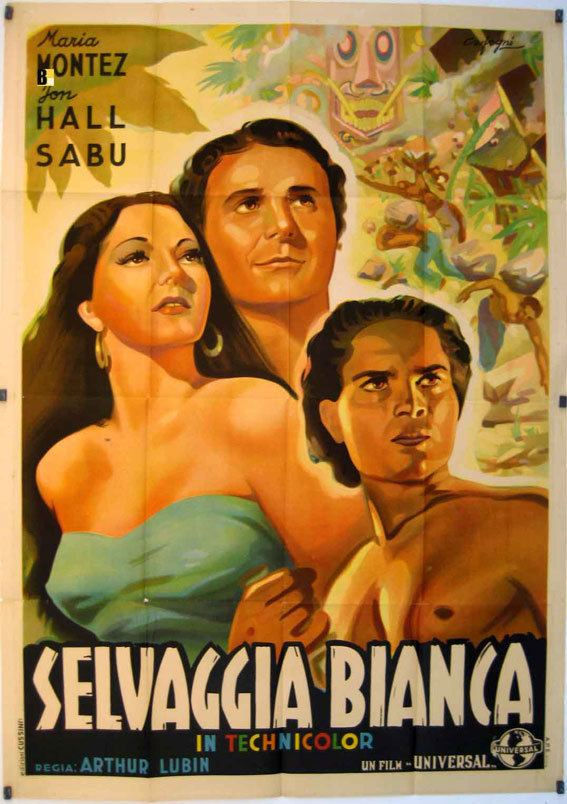 SELVAGGIA BIANCA MOVIE POSTER WHITE SAVAGE MOVIE POSTER