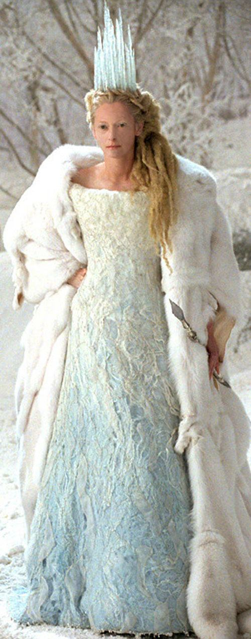 White Witch Narnia Tilda Swinton Jadis the White Witch Character profile