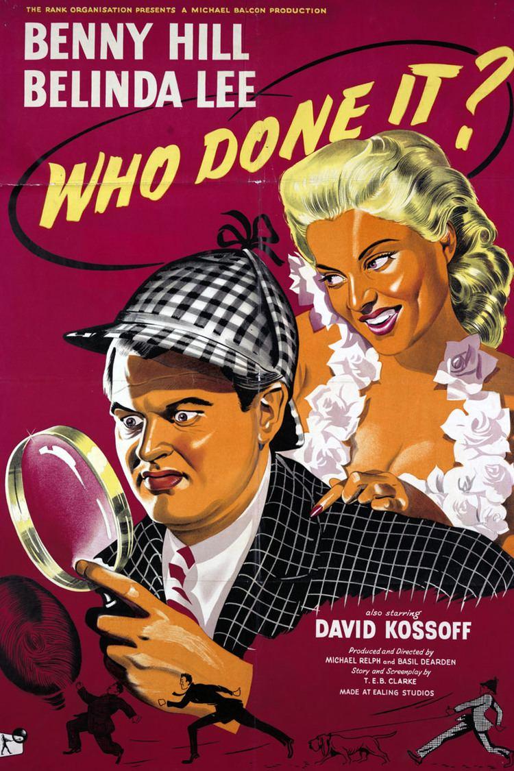 Who Done It? (1956 film) wwwgstaticcomtvthumbmovieposters42437p42437
