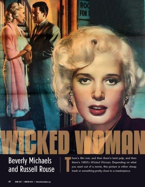 Beverly Michaels Wicked Woman Cinema Sojourns