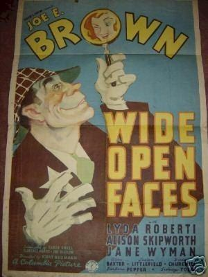 Wide Open Faces Joe Brown
