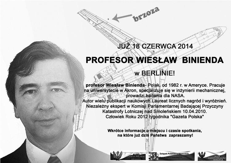 Wiesław Binienda Kluby Gazety Polskiej Wiesaw Binienda