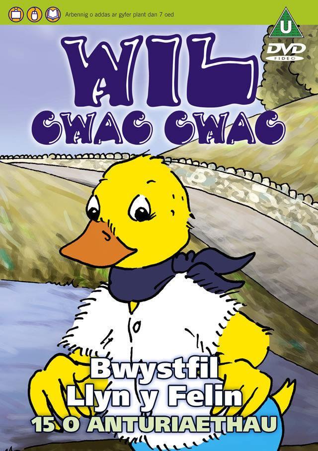 Wil Cwac Cwac Wil Cwac Cwac 2 Bwystfil Llyn y Felin DVD Sain Records