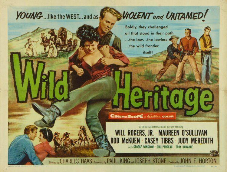 Wild Heritage movie scenes Wild Heritage 1958 IZ288 Photo VIRNA LISI Movie Scene