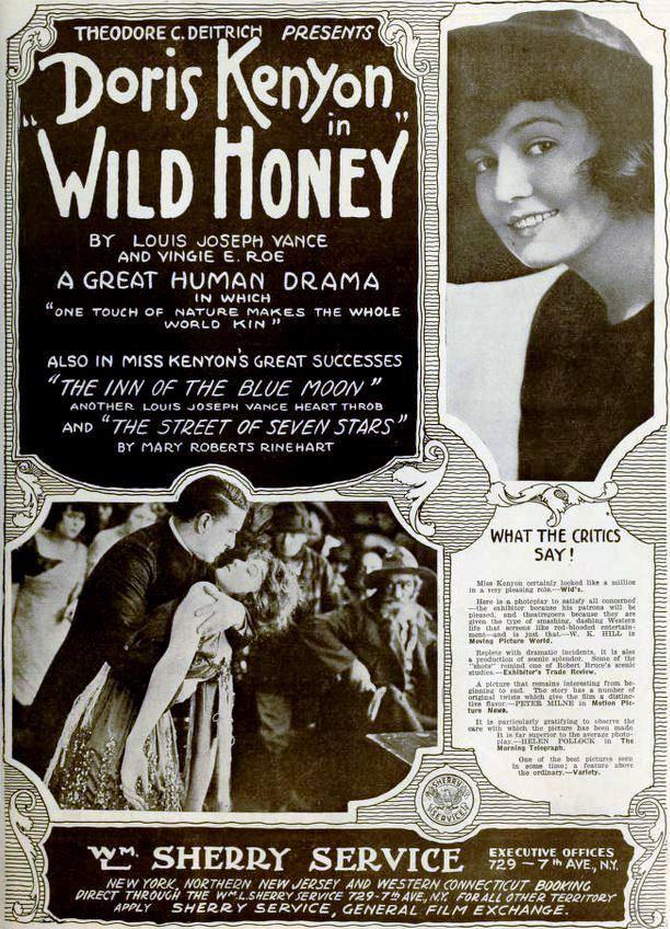 FileWild Honey 1918 Ad 1jpg Wikimedia Commons