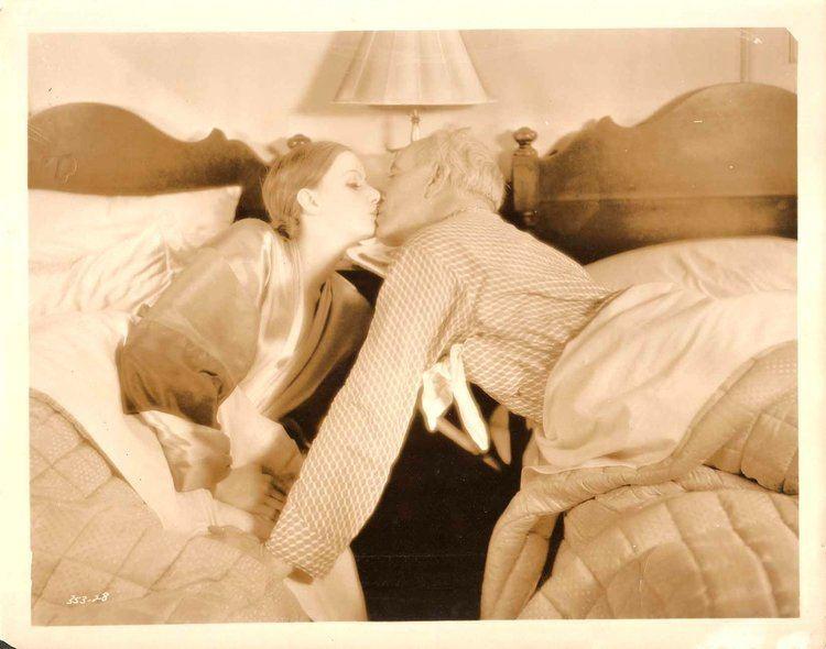 GRETA GARBO LEWIS STONE in Wild Orchids Original Vintage Photo