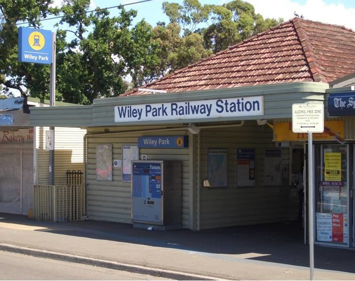 Wiley Park railway station