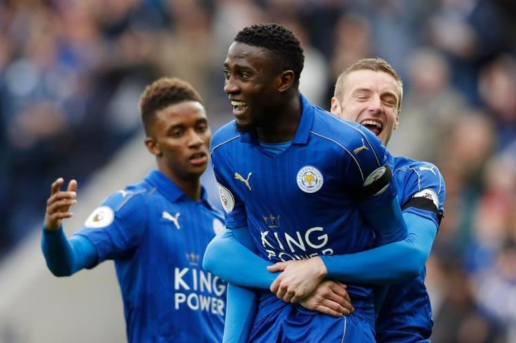 Wilfred Ndidi Leicester 2 Stoke 0 WATCH HIGHLIGHTS Wilfred Ndidi and Jamie