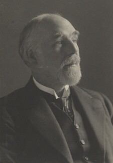 Wilfrid Meynell, by Walter Stoneman, for  James Russell & Sons - NPG Ax39216
