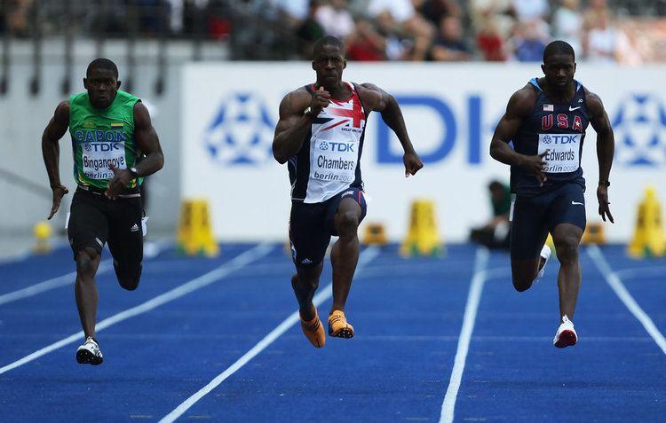 Wilfried Bingangoye Wilfried Bingangoye in 12th IAAF World Athletics Championships Day