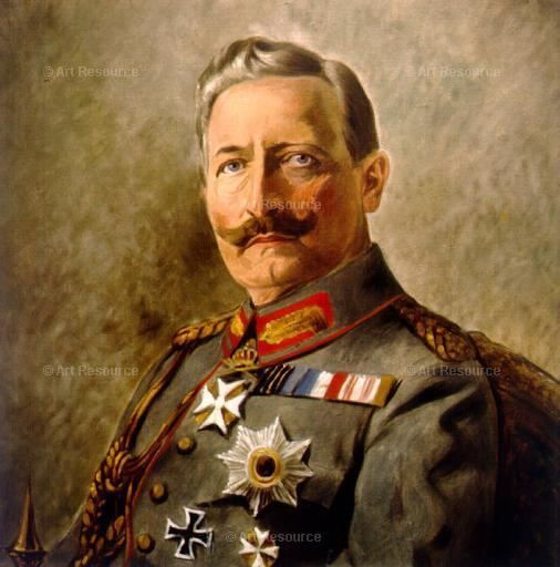 Wilhelm II, German Emperor Art Resource Fine Art Stock Licensing