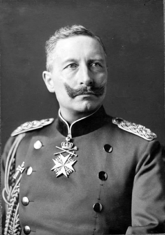 Wilhelm II, German Emperor Kaiser Wilhelm II Tinting History