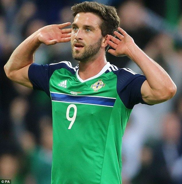 Will Grigg Will Grigg aiming to give Northern Ireland fans something to sing