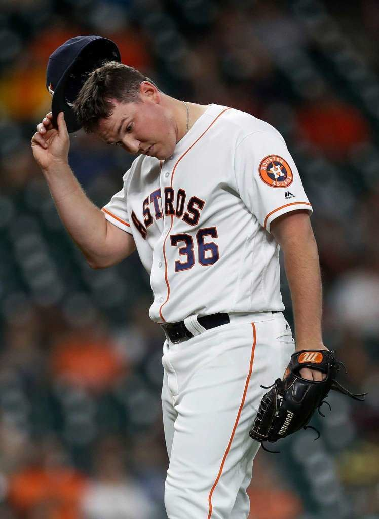 Will Harris Astros Will Harris feels fine in first appearance in eight days