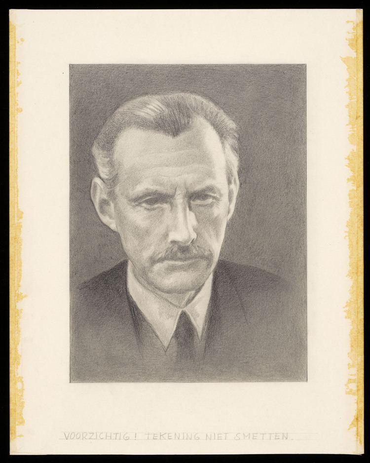 Willem Pijper Voorstudie voor zomerpostzegels Nederland 1954 componist
