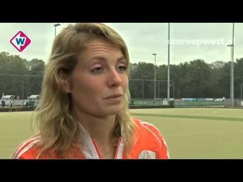 Willemijn Bos Interview Willemijn Bos na presentatie kinderboek WK