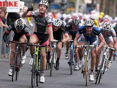 Willi Willwohl Tour de Berlin Willwohl feiert 3 Etappensieg Nielsen