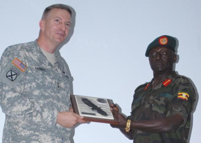 William B. Garrett III Army Africa commander addresses senior officers media