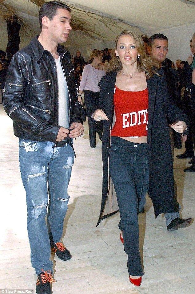 William Baker (fashion designer) Kylie Minogue and stylist William Baker working together again