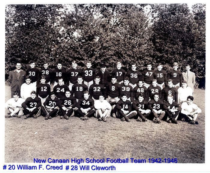 William F. Creed William F CREED and New Canaan Football Team 19421946