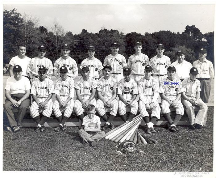 William F. Creed William F CREED with New Canaan HS Baseball Team The Zebras