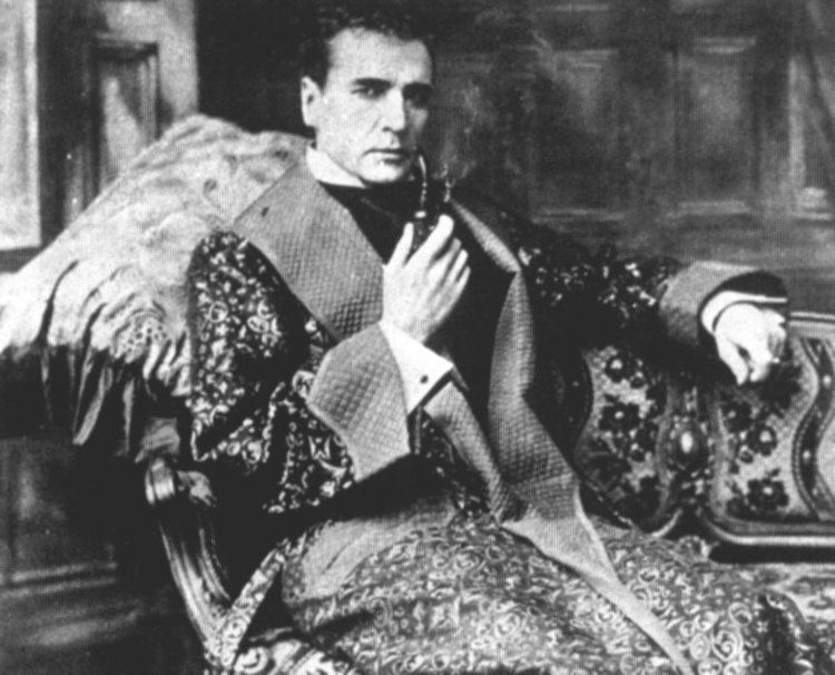 William Gillette William Gillette39s LongLost Sherlock Holmes Film Discovered