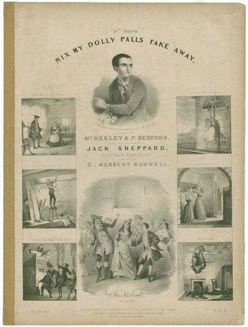 William Harrison Ainsworth Nix My Dolly Palls Fake Away Sung by Mrs Keeley and P