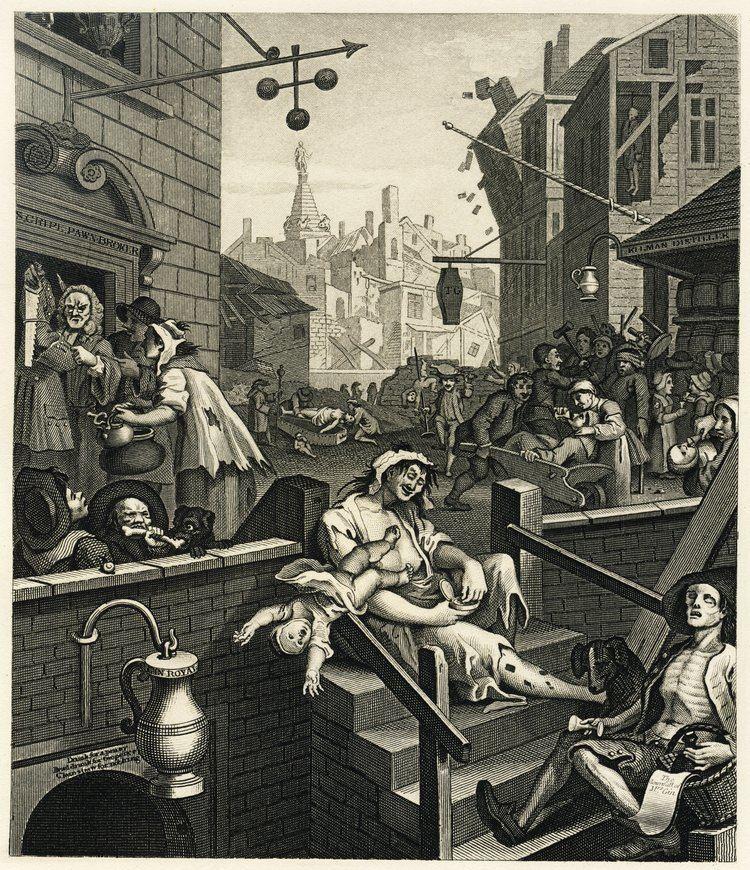 William Hogarth William Hogarth Gin Lane vs Beer Street The Economist
