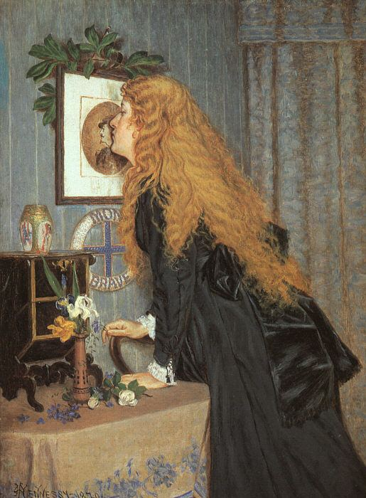 William John Hennessy Hennessy Expert art authentication certificates of