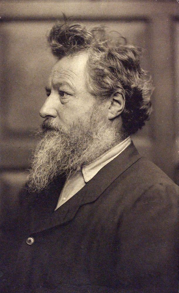 William Morris Biography of William Morris Victoria and Albert Museum
