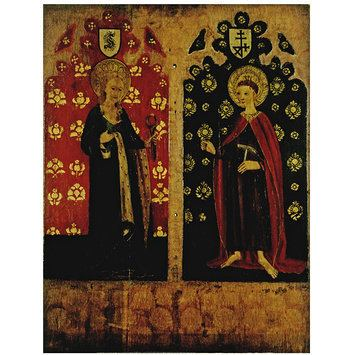 William of Norwich St Agatha Holding Pincers and a Breast St William of Norwich with
