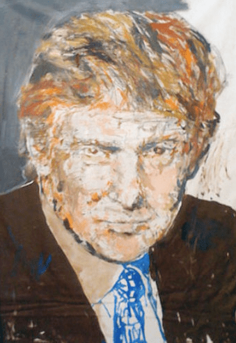William Quigley Donald Trump Buys Portrait Of Himself By Artist William